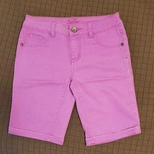 Girls Purple Stretch Bermuda Shorts from Justice